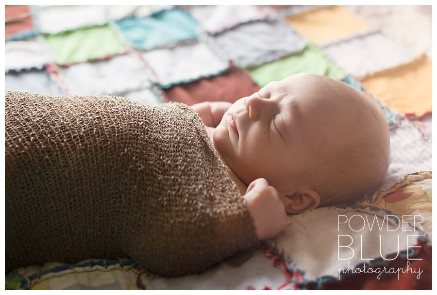 lifestyle newborn portrait in home pittsburgh