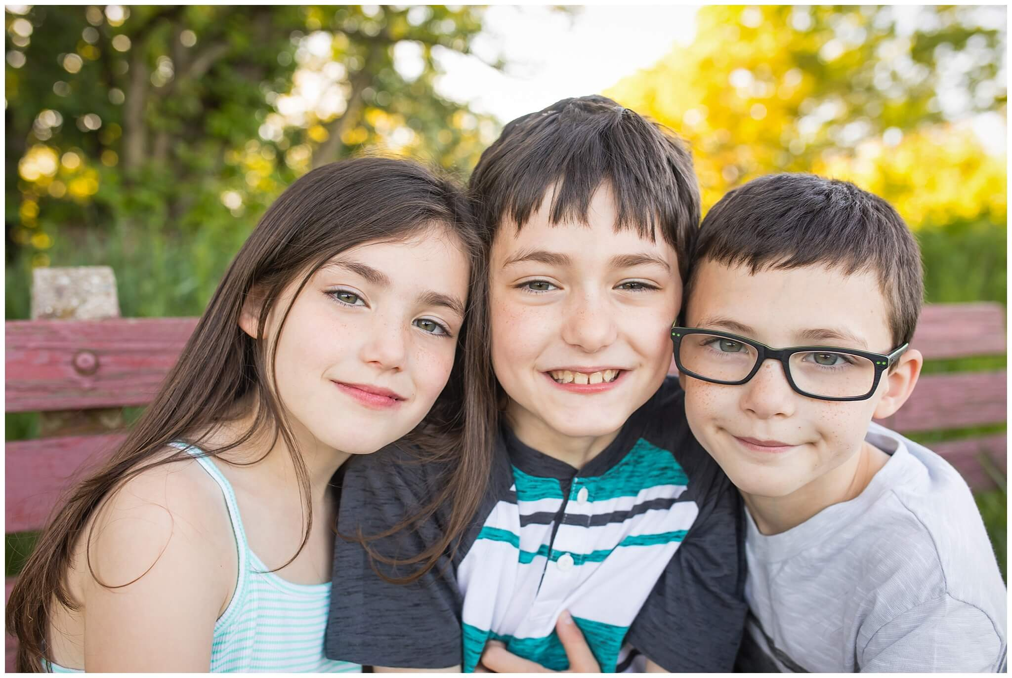 Pittsburgh Family Photographer | Outdoor Family Portraits | Ferriolo Family